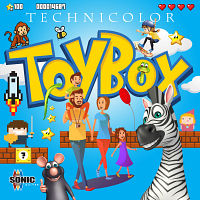 SQ109 - Technicolor Toy Box
